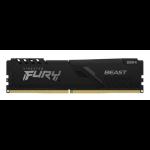 Kingston Technology FURY Beast memory module 8 GB 1 x 8 GB DDR4 3000 MHz