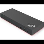 Lenovo Thunderbolt 3 Workstation Dock Gen 2 Wired Black