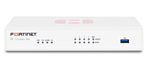 FORTINET FORTIGATE 30E HARDWARE FIREWALL 950 MBIT/S