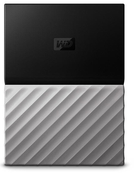Western Digital My Passport Ultra external hard drive 4000 GB Black,Grey