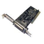 Dynamode Parallel Port DB-25 Controller Adapter PCI Card, 1-Port (PCI-PARALLEL)