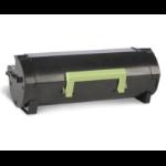Lexmark 50F2X00 (502X) Toner black, 10K pages @ 5% coverage