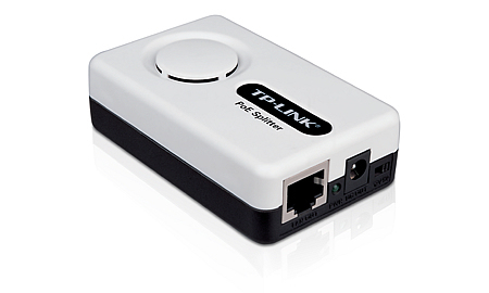 TP-LINK PoE Splitter Power over Ethernet (PoE) White network splitter
