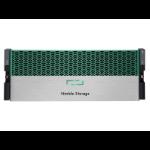 HP HF40 disk array 22.44 TB Rack (4U) Green,Silver