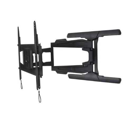 B-Tech Ultra-Slim Double Arm Flat Screen Wall Mount with Tilt and Swivel