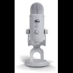 Blue Microphones Yeti Micrófono de superficie para mesa Blanco