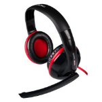 Mars Gaming MH0 Binaural Head-band Black, Red headset