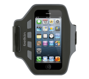 "Belkin F8W299VFC00 4"" Armband Black,Grey mobile phone case"