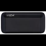 Micron CT500X8SSD9 unidad externa de estado sólido 500 GB Negro