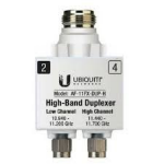 Ubiquiti Networks AF-11FX-DUP-H 1pc(s) Silver,White fiber optic adapter