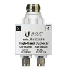Ubiquiti Networks AF-11FX-DUP-H 1pc(s) Silver,White fiber optic adapter