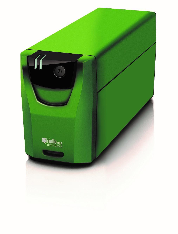 Riello NetPower GAMING sistema de alimentación ininterrumpida (UPS) Línea interactiva 800 VA 480 W 2 salidas AC