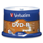 Verbatim 16x DVD-R Media 4.7 GB 50 pc(s)