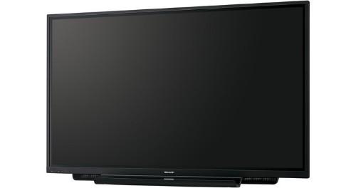 "Sharp PN-65TH1 165.1 cm (65"") LCD 4K Ultra HD Touchscreen Interactive flat panel Black"
