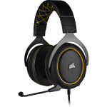 Corsair HS60 Pro Surround Headset Head-band Black,Yellow