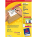 Avery L7165-100 self-adhesive label White 800 pc(s)