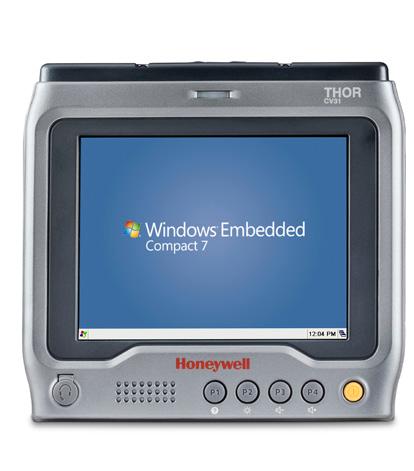 "Intermec Thor CV31 ordenador móvil industrial 16,5 cm (6.5"") 640 x 480 Pixeles Pantalla táctil 1,65 kg Negro, Gris"