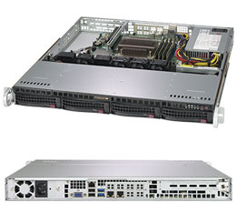 Supermicro 5019C-M Intel C246 LGA 1151 (Socket H4) Rack (1U) Black