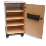 Sapphire STRV102D multimedia cart/stand Multimedia trolley Wood