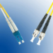 Microconnect FIB411015 15m LC ST Yellow fiber optic cable