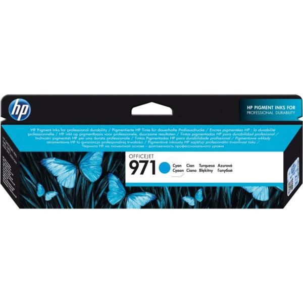 HP CN622AE (971) Ink cartridge cyan, 2.5K pages, 25ml