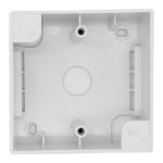 Cablenet Single Gang PVC Back Box 45mm