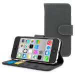 "TheSnugg B00U7DFCMQ 4"" Folio Grey mobile phone case"