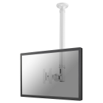"Newstar TV/Monitor Ceiling Mount for 10""-30"" Screen, Height Adjustable - White"