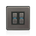 Lightwave L22 dimmers Smart dimmer Mountable Black,Stainless steel