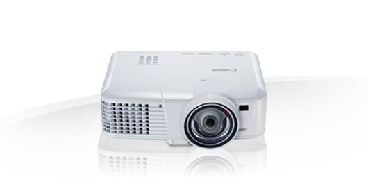 Canon LV X310ST videoproyector 3100 lúmenes ANSI DLP XGA (1024x768) Proyector para escritorio Blanco