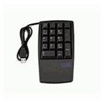 Lenovo Keyboard NON 17keys numeric USB black USB Black keyboard