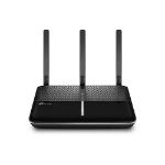 TP-LINK Archer AC1600 wireless router Dual-band (2.4 GHz / 5 GHz) Gigabit Ethernet 3G 4G Black,Silver
