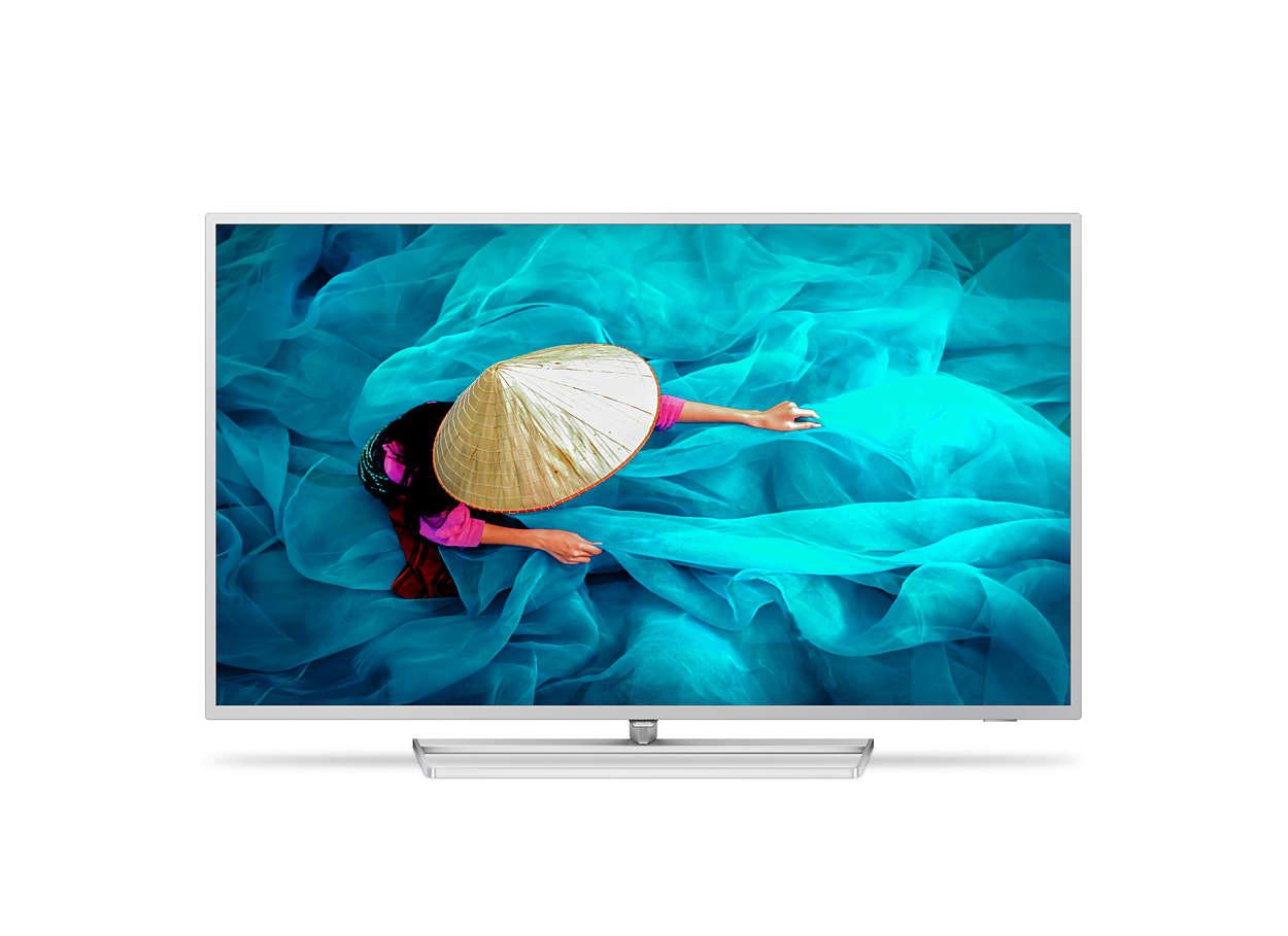 "Philips 55HFL6014U/12 TV 139.7 cm (55"") 4K Ultra HD Smart TV Wi-Fi Silver"