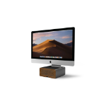 TwelveSouth HiRise Pro Freestanding Black, Wood