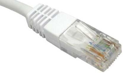Titan 10m Cat6 UTP networking cable White