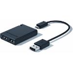 3Dconnexion 3DX-700051 interface hub USB 2.0 Black
