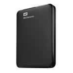 Western Digital WD Elements Portable USB Type-A 3.0 (3.1 Gen 1) 2000GB Black WDBU6Y0020BBK-WESN