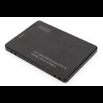 ASSMANN Electronic DA-71118 caja para disco duro externo M.2 Carcasa de disco duro/SSD Negro