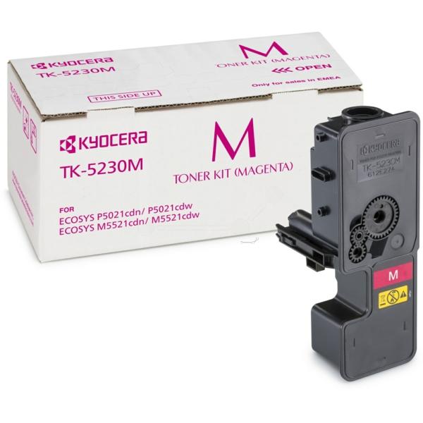 KYOCERA 1T02R9BNL0 (TK-5230 M) Toner magenta, 2.2K pages