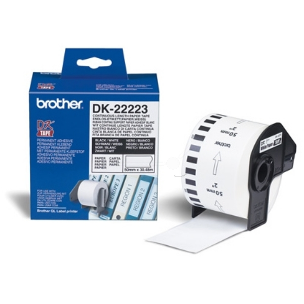 Brother DK-22223 P-Touch Etikettes, 50mm x 30,48m DK22223