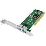 Siig DP PCI-to-PS/2 interface cards/adapterZZZZZ], JJ-PA0012-S1