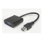 Microconnect USB 3.0-VGA M/F USB graphics adapter 1920 x 1080 pixels Black