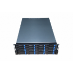 TGC Rack Mountable Server Chassis 4U 590mm Depth, 24x Ext 3.5'/2.5' Bays, 2x Int 2.5' Bays, 7x Full Heig