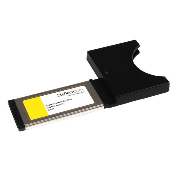 StarTech.com Tarjeta Adaptador ExpressCard /34 34mm a PC Card PCMCIA Cardbus