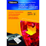 Fellowes A4 Cleaning & Carrier Sheets - 10 pack