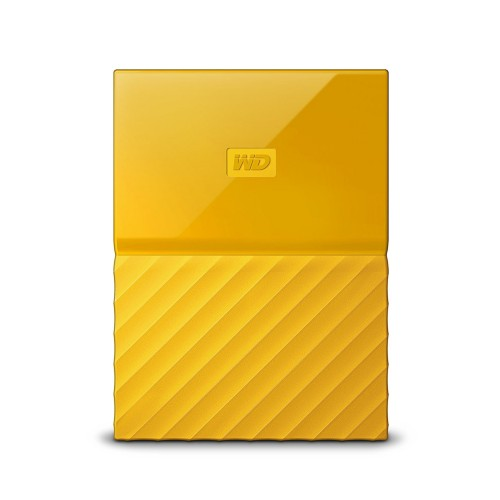 Western Digital My Passport external hard drive 2000 GB Yellow