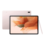 """Samsung Galaxy Tab S7 FE SM-T733N 128 GB 31.5 cm (12.4"""") 6 GB Wi-Fi 5 (802.11ac) Android 11 Pink"""