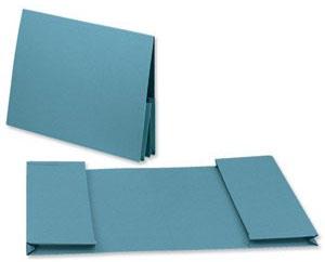 Guildhall 214-BLUZ folder Legal Blue