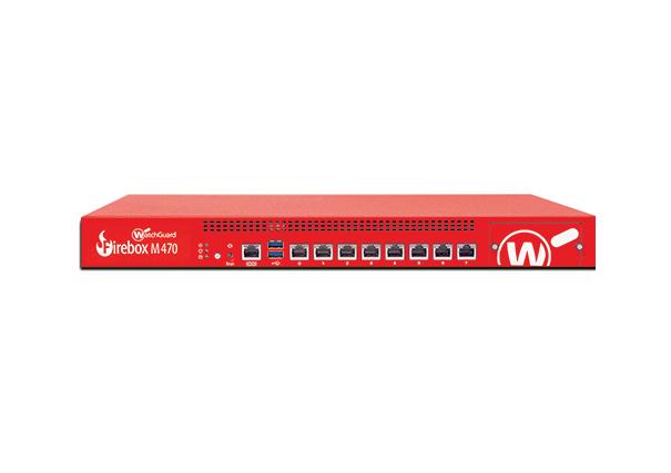WatchGuard Firebox M470 1U 19600Mbit/s hardware firewall