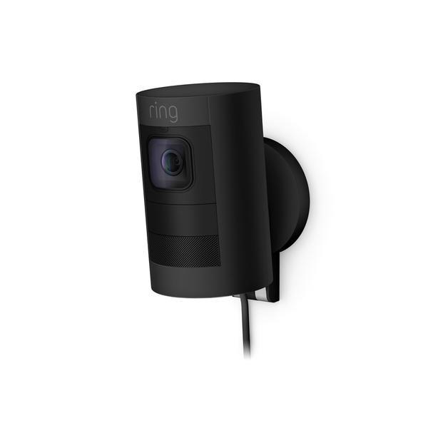 Ring Stick Up Cam Wired Cámara de seguridad IP Interior y exterior Caja Techo/Pared/Escritorio